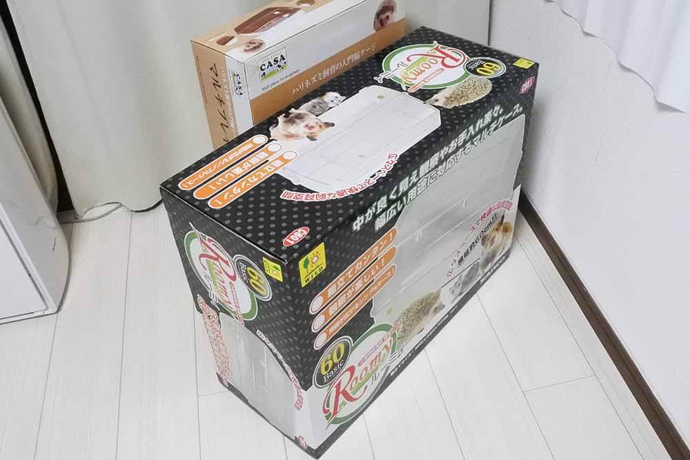 ルーミィ60 ベーシックの外箱