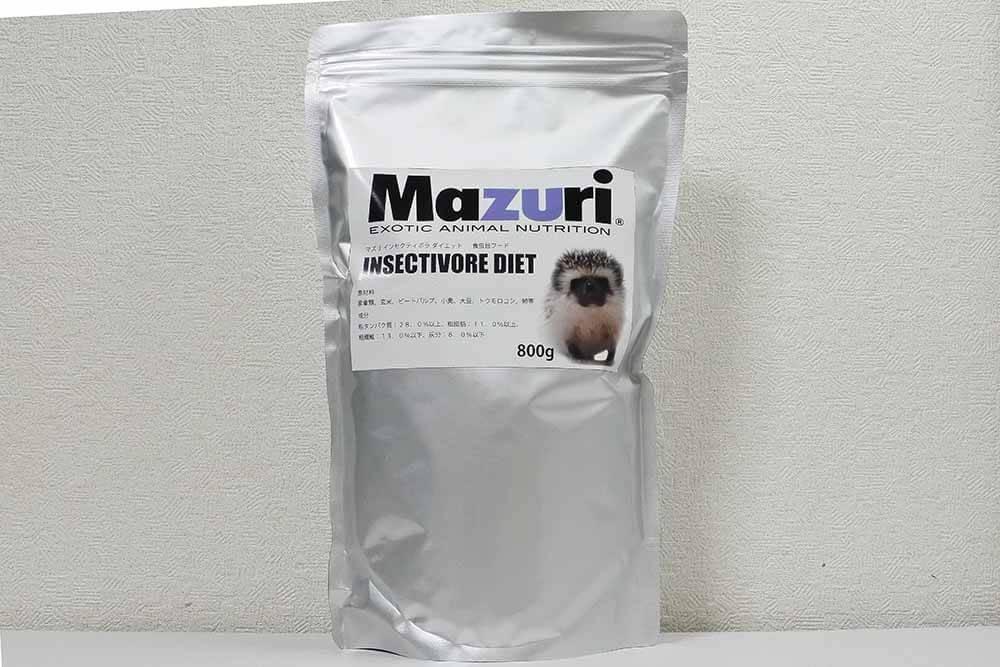 Mazuri Insectivore Diet マズリインセクティボラダイエット パッケージ
