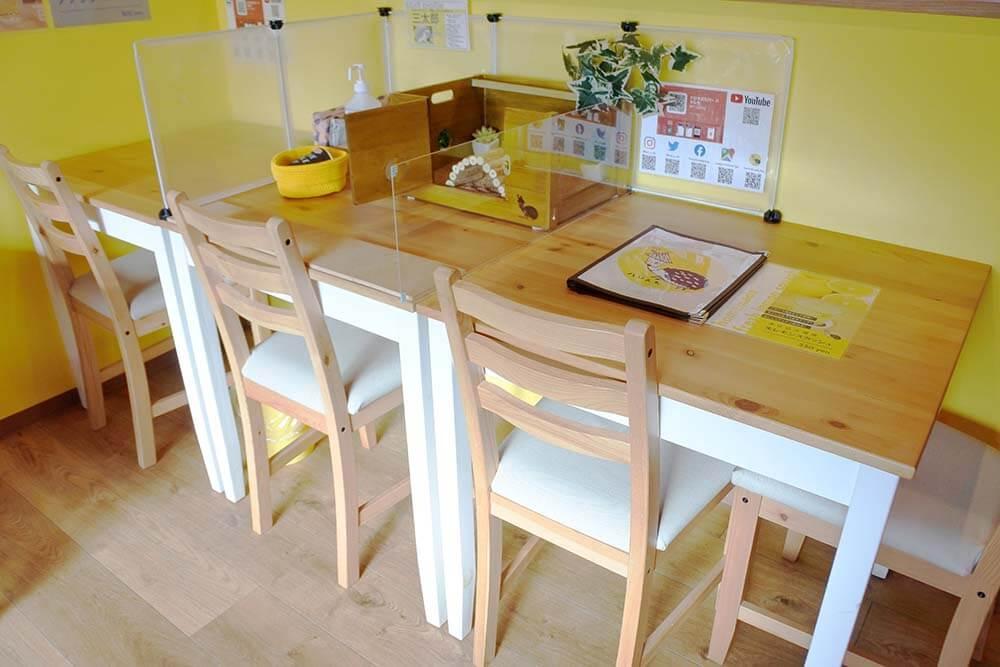 テーブル席A(ふれあいOK)
