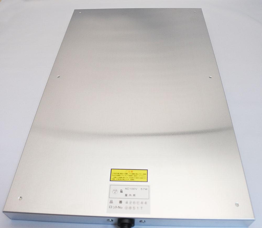 暖突Lのヒーター本体(裏、ケージとの固定面)